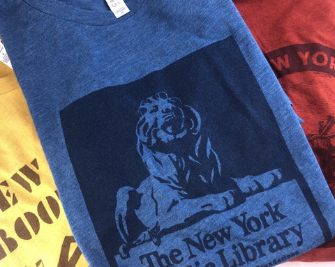 Library Lion: NYPL Vintage Inspired T-shirt - The New York Public Library Shop