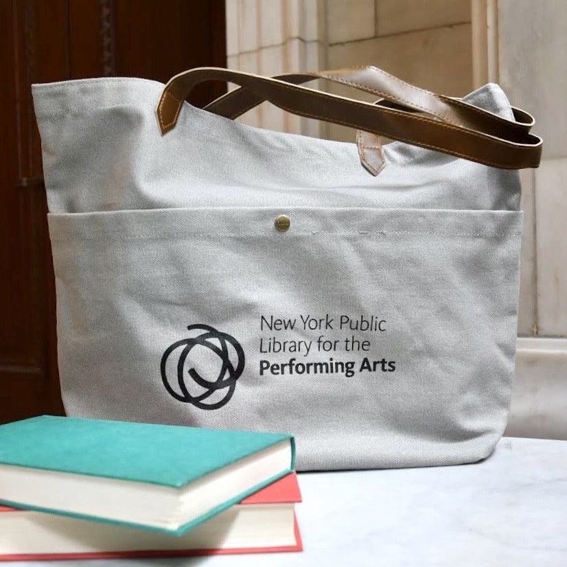 New York Public Library for the Performing Arts Tote Bag