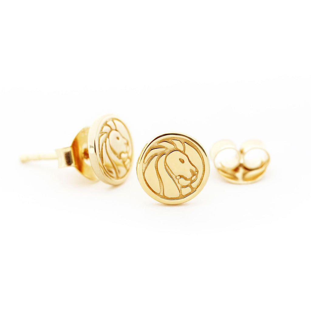 NYPL Lion Logo Earrings - The New York Public Library Shop