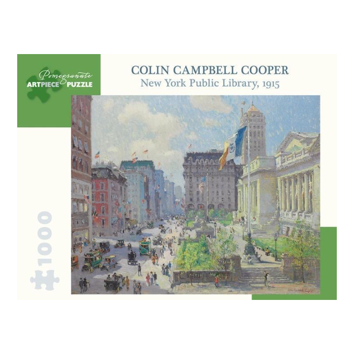 Cooper: New York Public Library Puzzle - The New York Public Library Shop