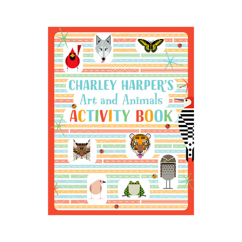 Charley Harper's Art and Animals Activity Book - The New York Public Library Shop