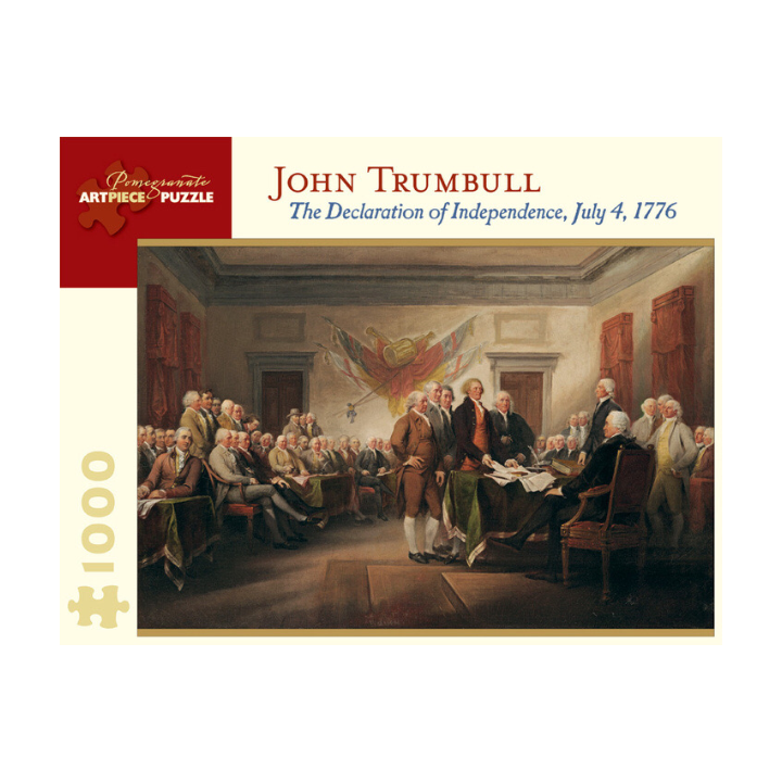 The Declaration of Independence Puzzle - The New York Public Library Shop