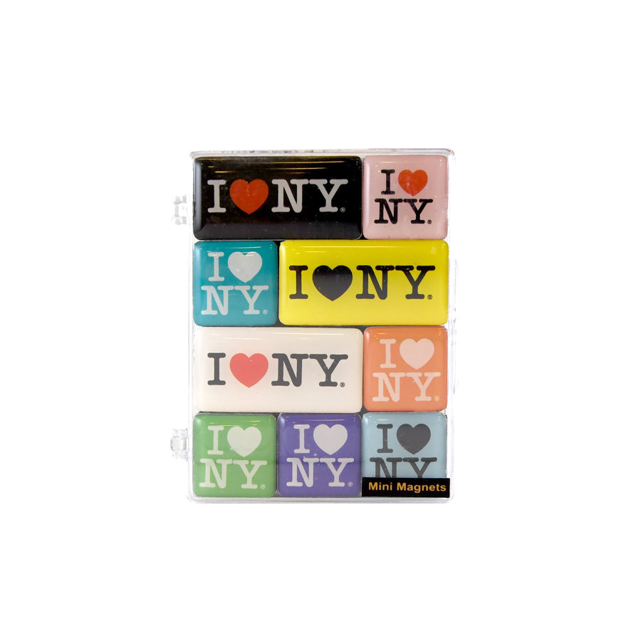 I Love NY Mini Magnet Set