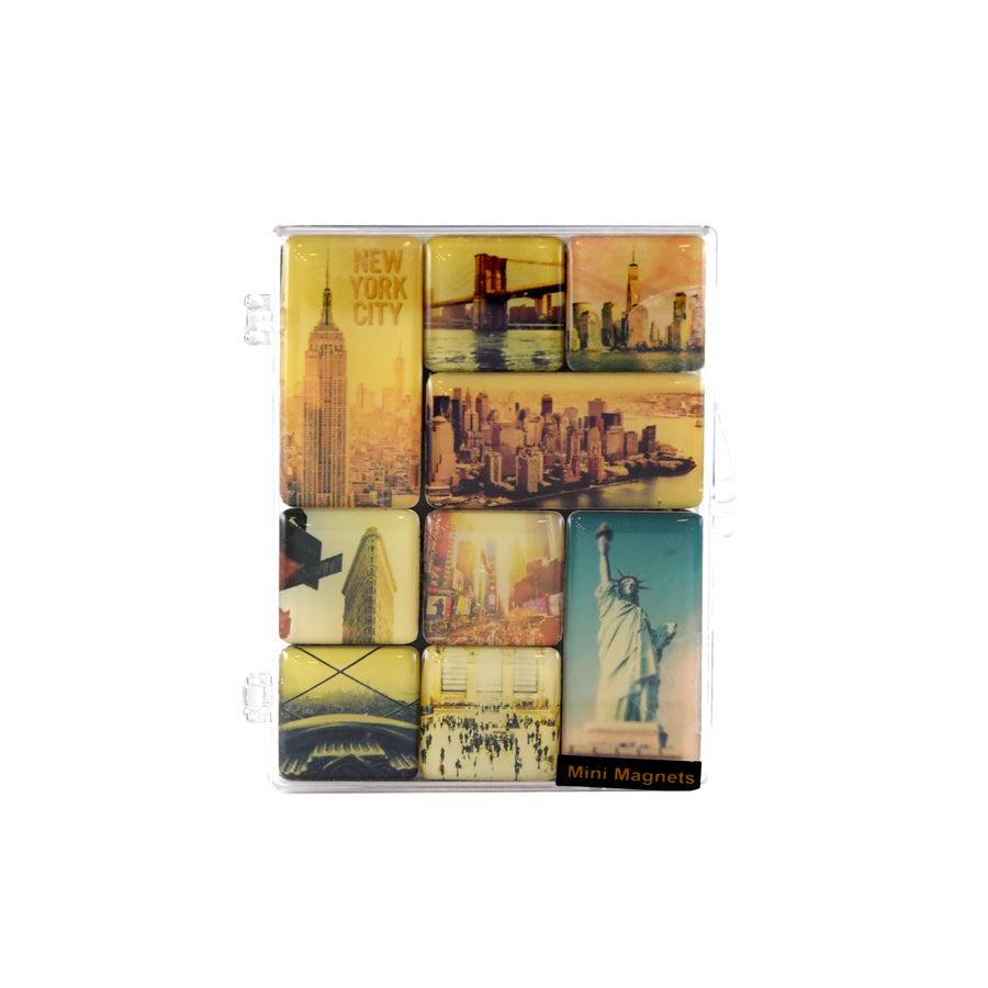 NYC Filtered Mini Magnet Set