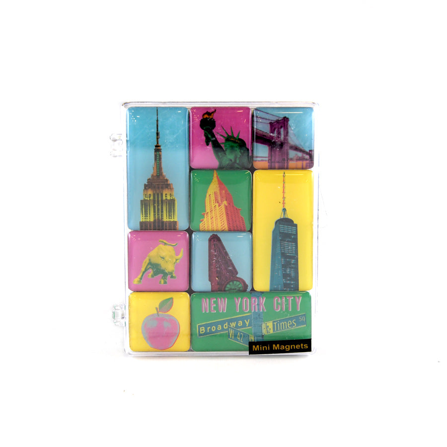 Pop Art NYC Mini Magnet Set