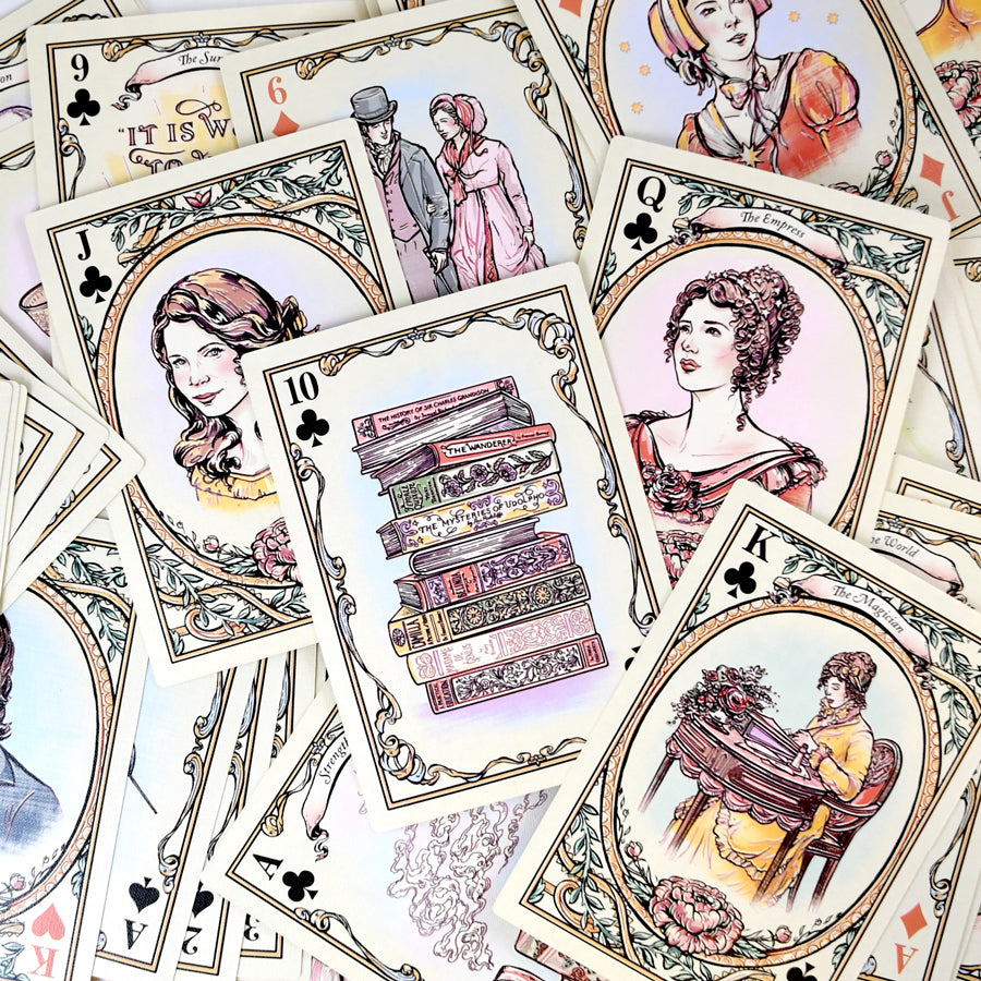 A Jane Austen Tarot Card / Playing Card Deck