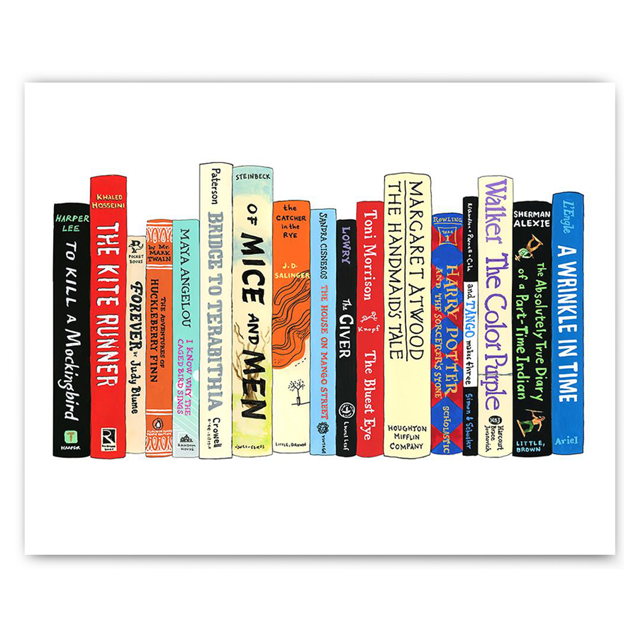 Banned Books Print - The New York Public Library Shop