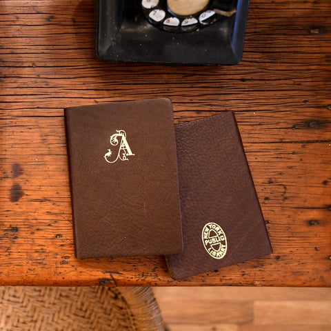 NYPL A-Z Monogrammed Journals
