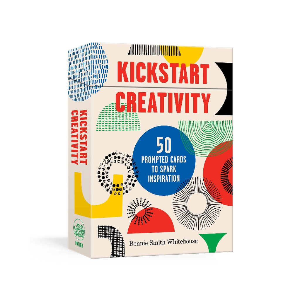 Kickstart Creativity: 50 Prompted Cards to Spark Inspiration