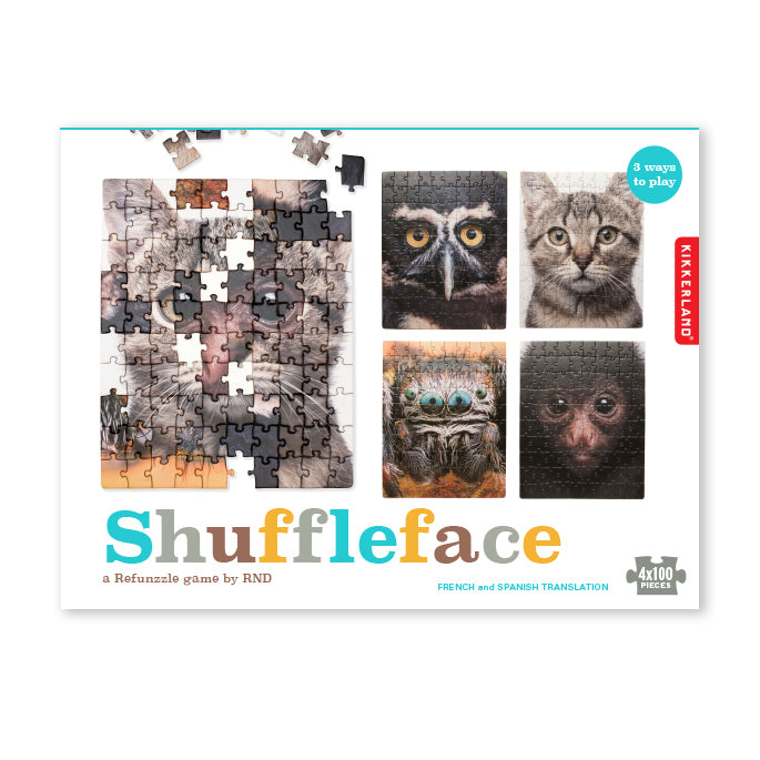 Shuffleface: Puzzle Game