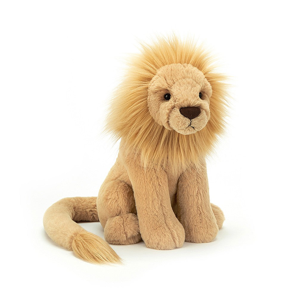 Leonardo Lion Plush - The New York Public Library Shop