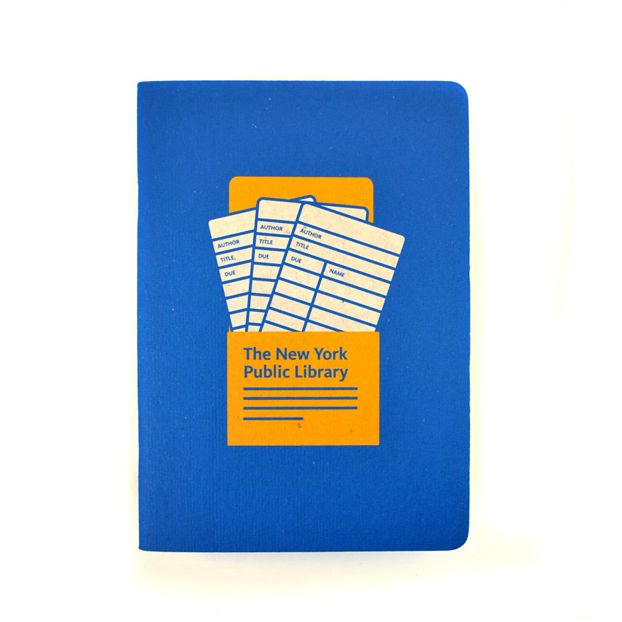 NYPL Library Card Notebook - The New York Public Library Shop