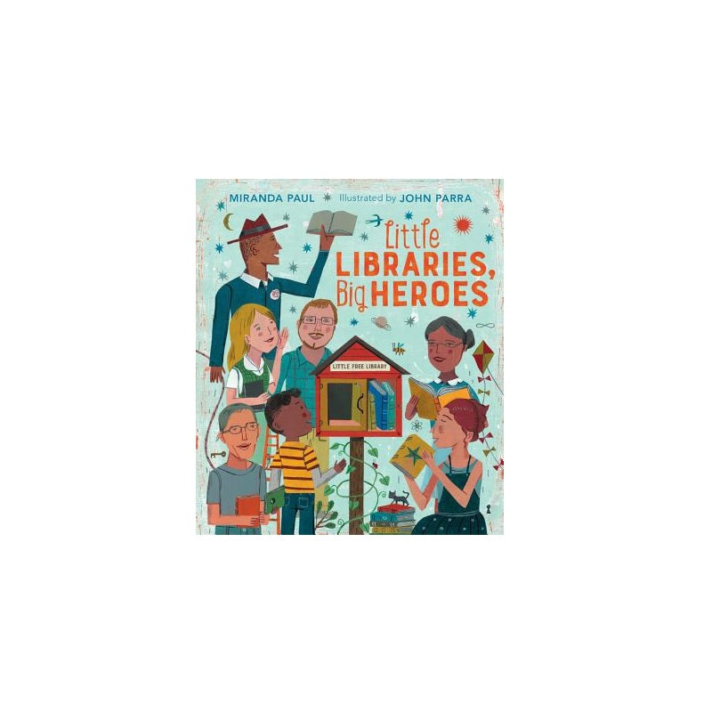 Little Libraries, Big Heroes - The New York Public Library Shop