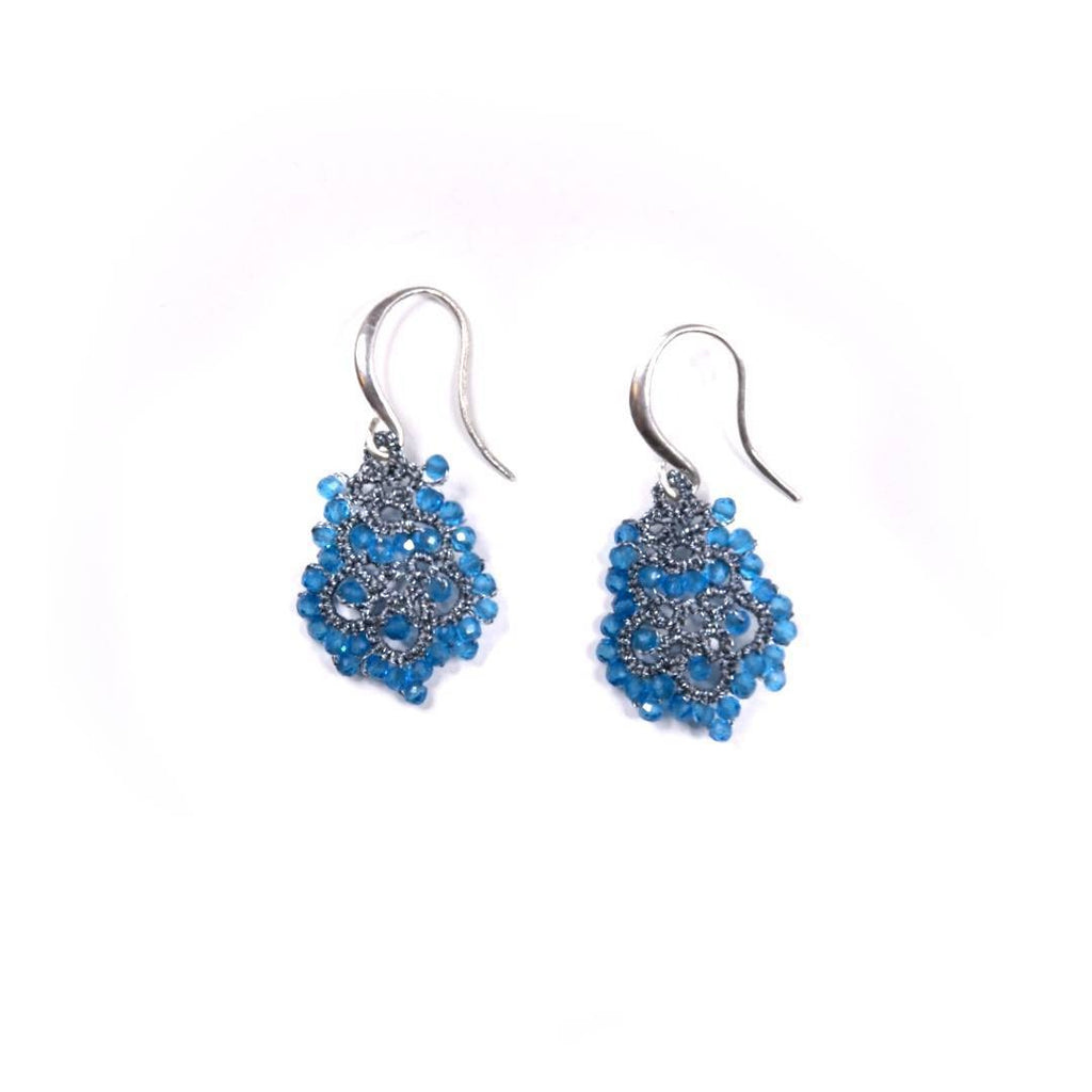 Lace Earrings: Sea Dora