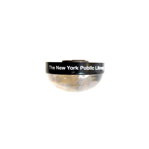 NYPL Snowglobe Magnet - The New York Public Library Shop