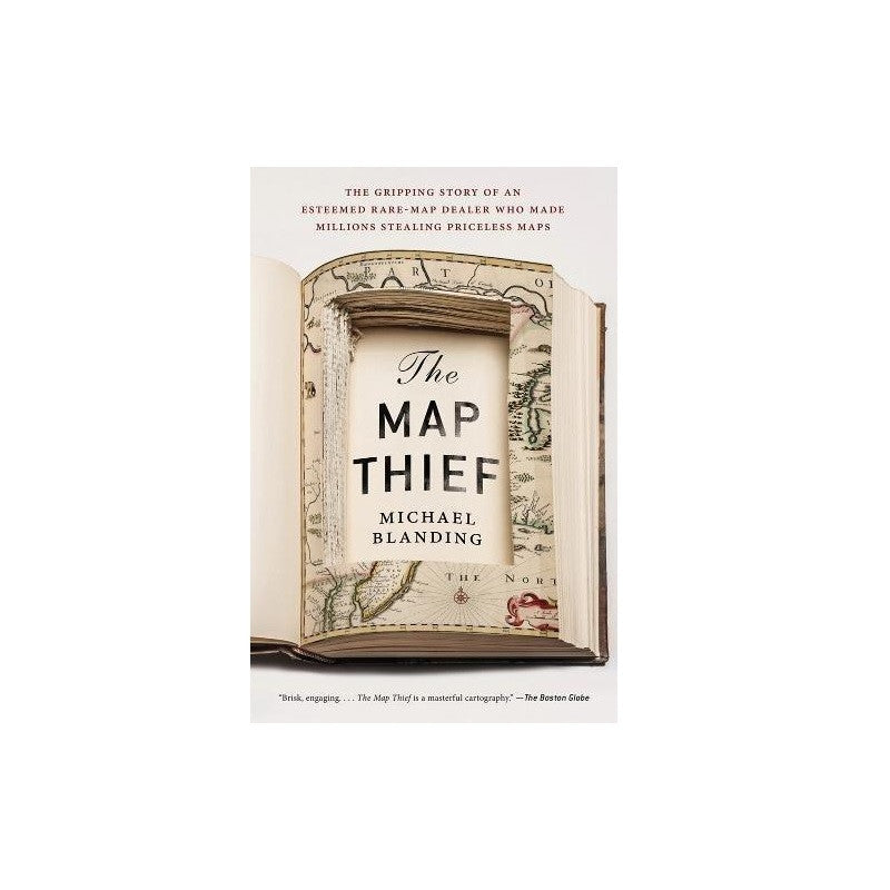 The Map Thief - The New York Public Library Shop