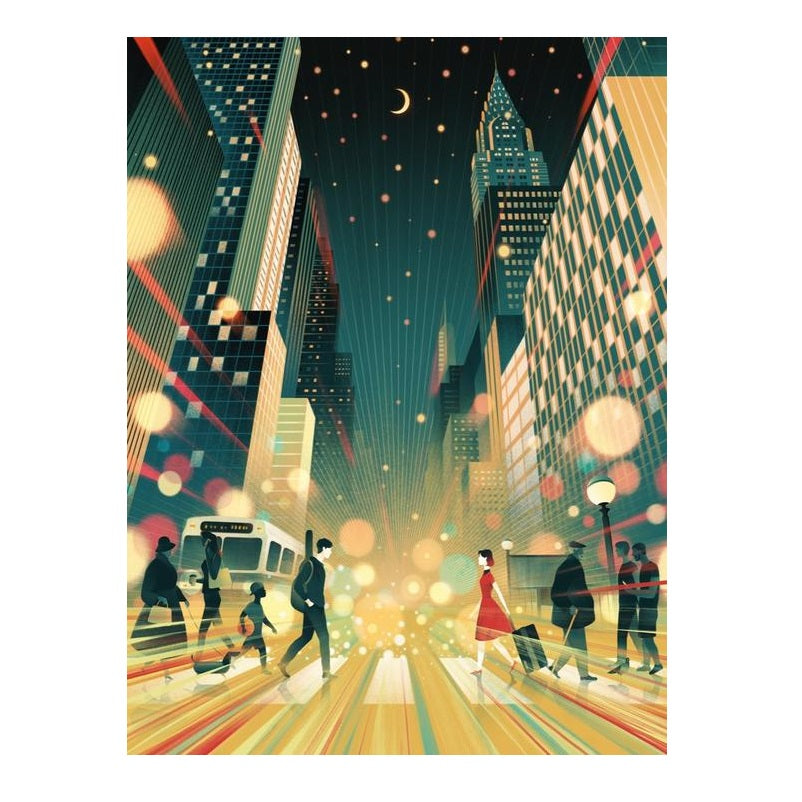 Moonlight Moment Puzzle - The New York Public Library Shop