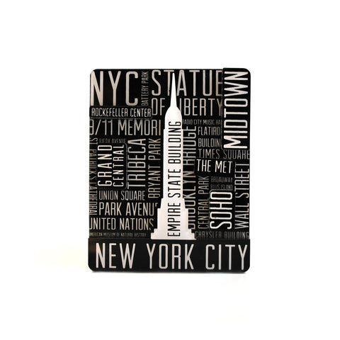 New York City Word Cloud Magnet