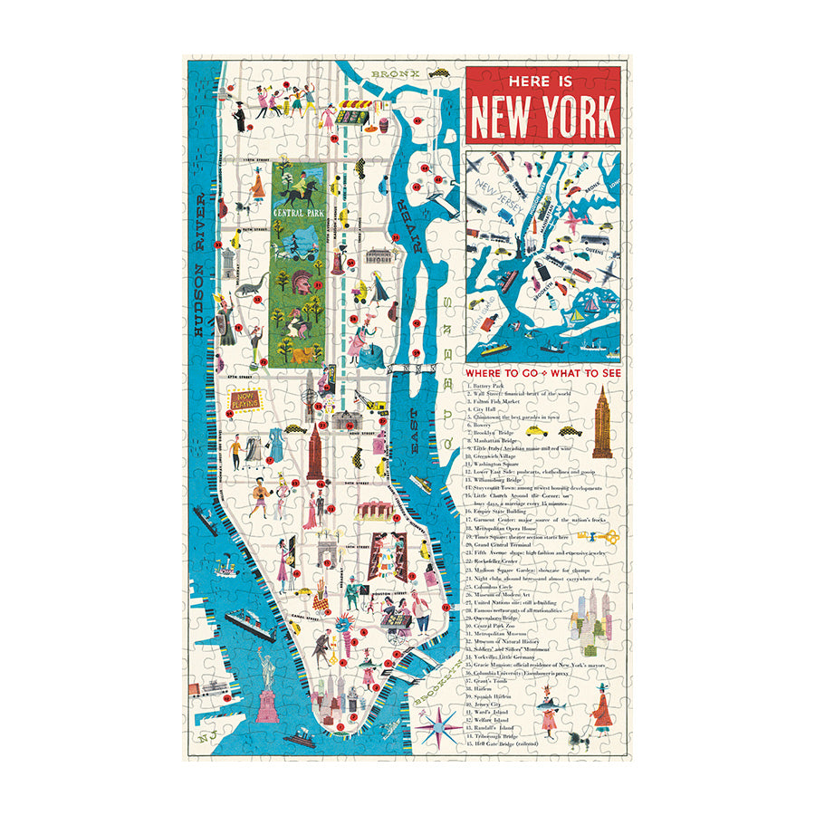 NYC Map Puzzle