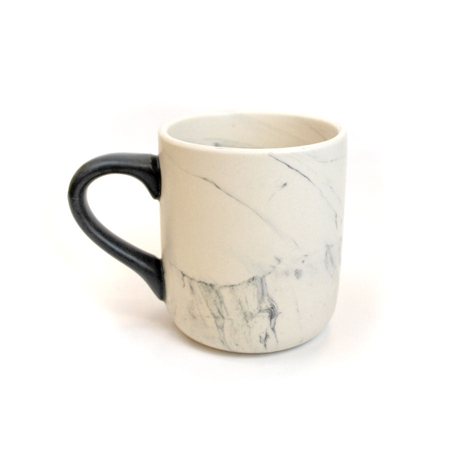 Marbleized New York City Skyline Mug - The New York Public Library Shop