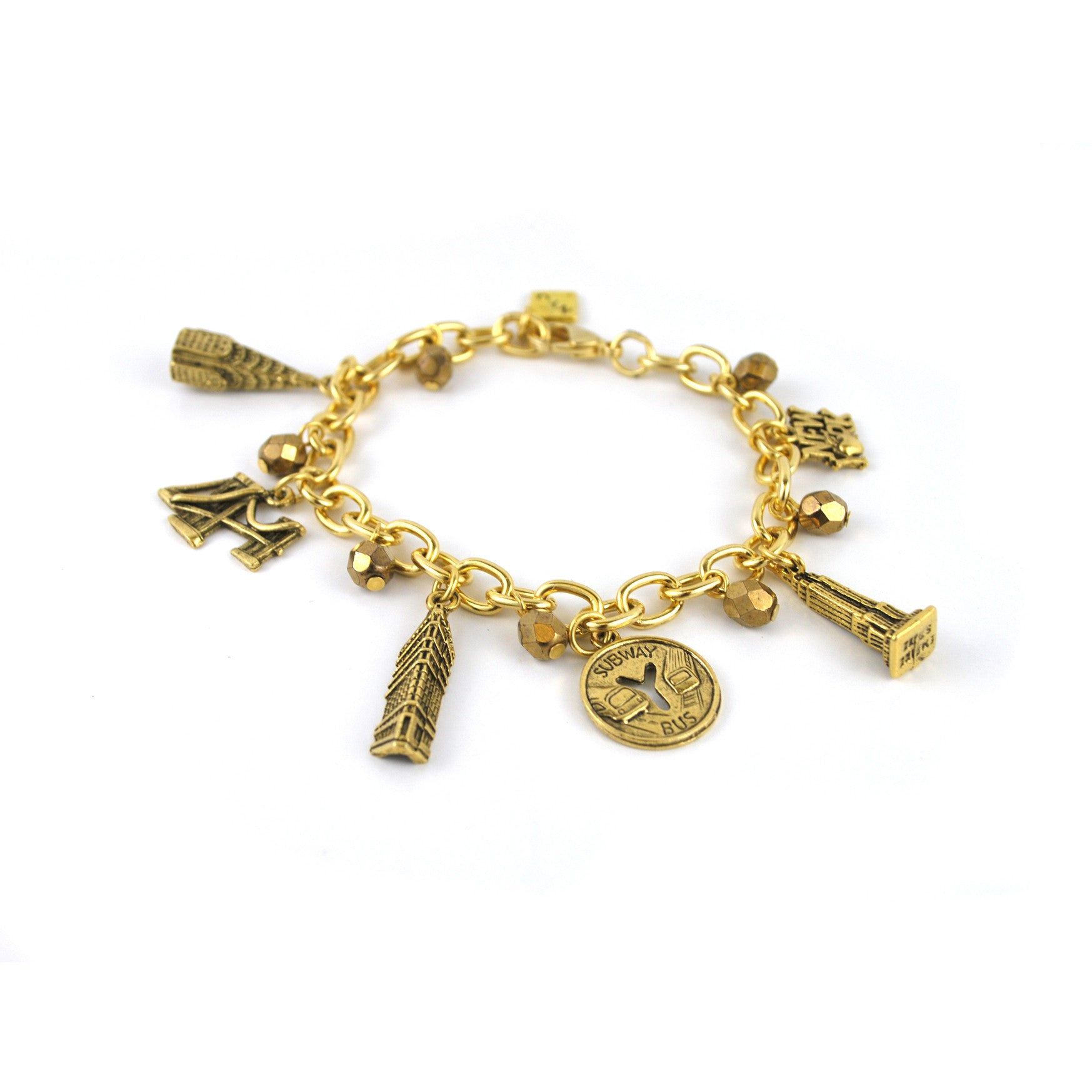 NYC Charm Bracelet – The New York Public Library Shop