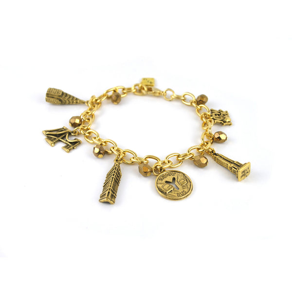 nyc charm bracelet the new york library shop