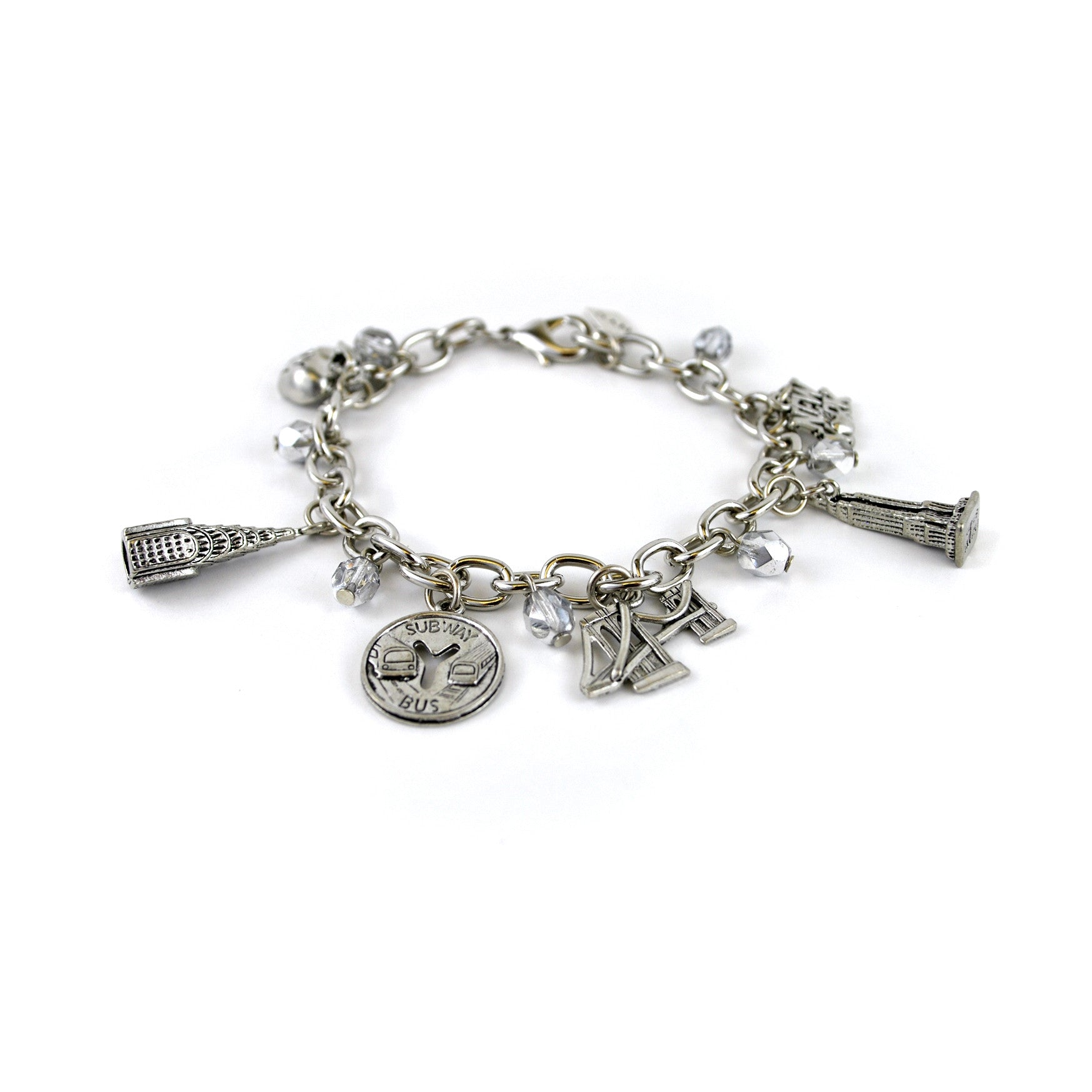 Nyc Charm Bracelet  The New York Public Library Shop