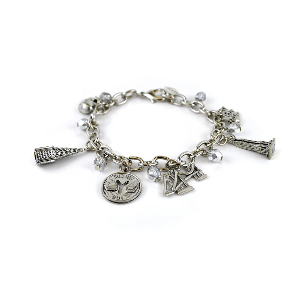 NYC Charm Bracelet - The New York Public Library Shop