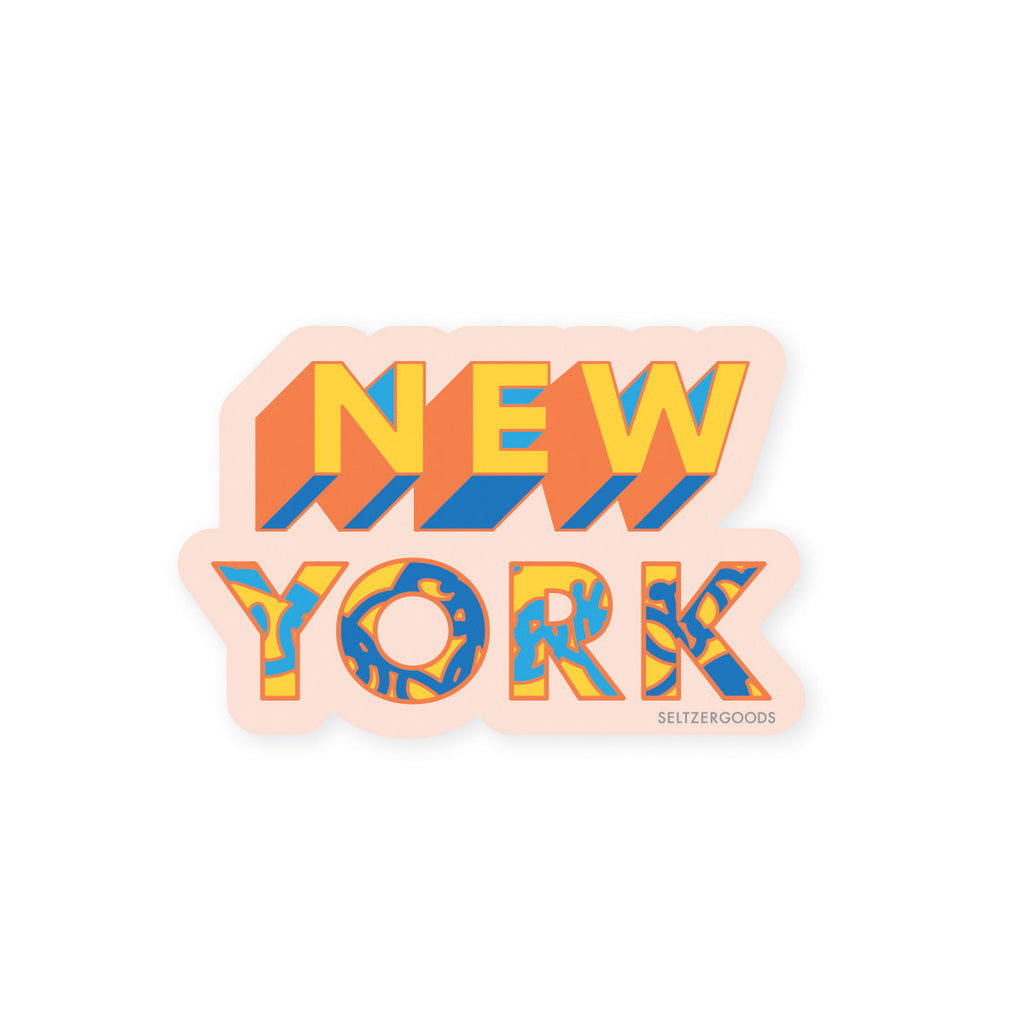 NYC Stickers Set - The New York Public Library Shop