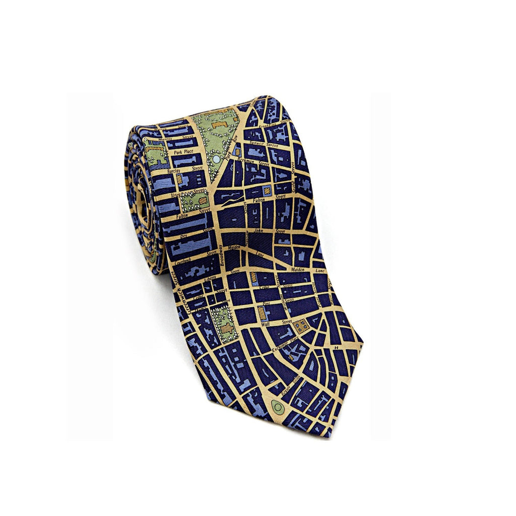 Manhattan Tie - The New York Public Library Shop