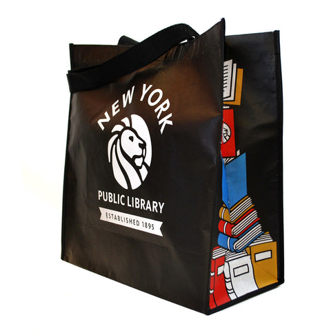 Recycled NYPL Bookstack Tote