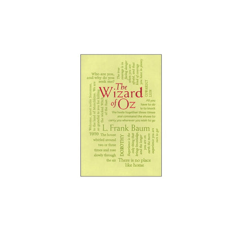 The Wizard of Oz - Word Cloud Classics