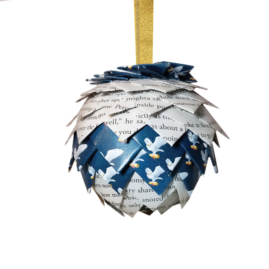 "Harry Potter ""Blue Owls"" Ornament"