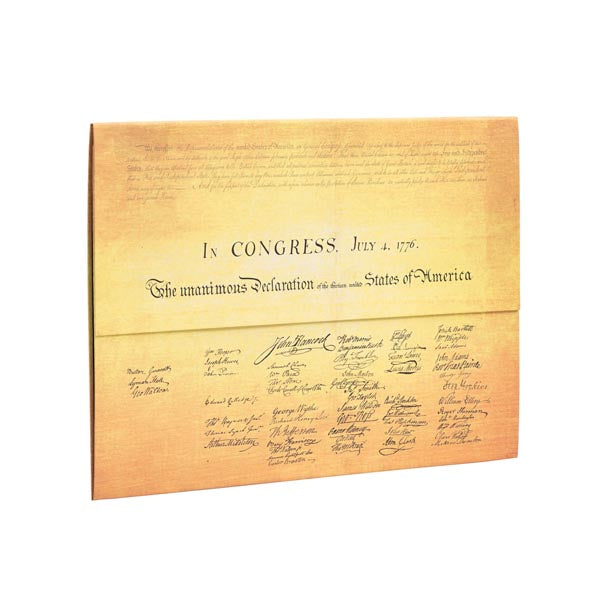NYPL Declaration of Independence Document Folder