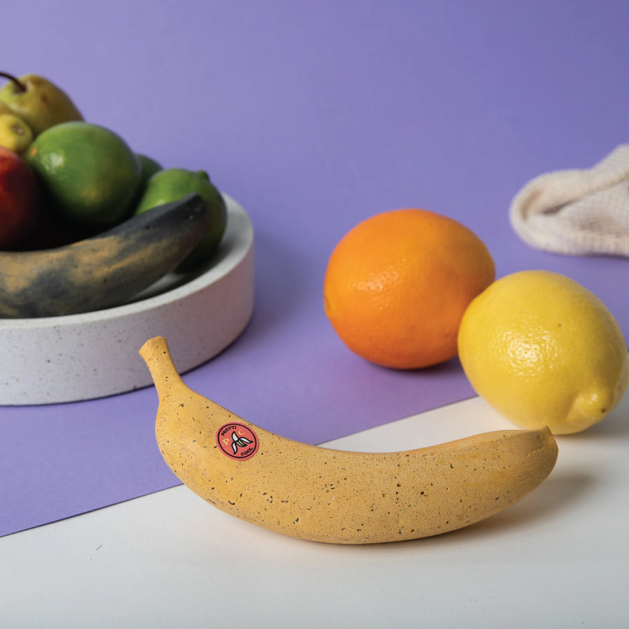 Perfectly Ripe Banana Paperweight