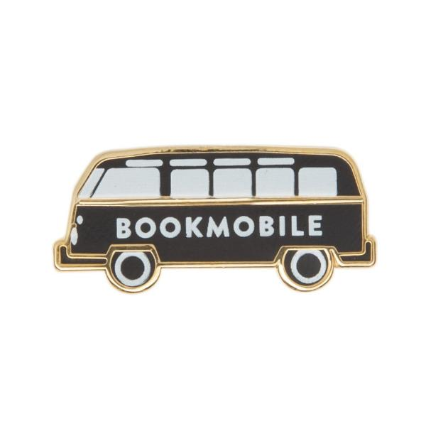 Bookmobile Pin - The New York Public Library Shop