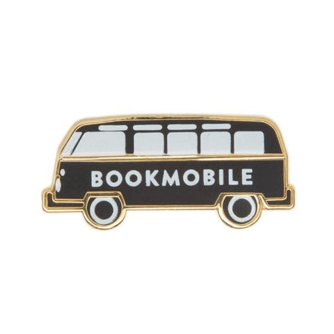Bookmobile Pin