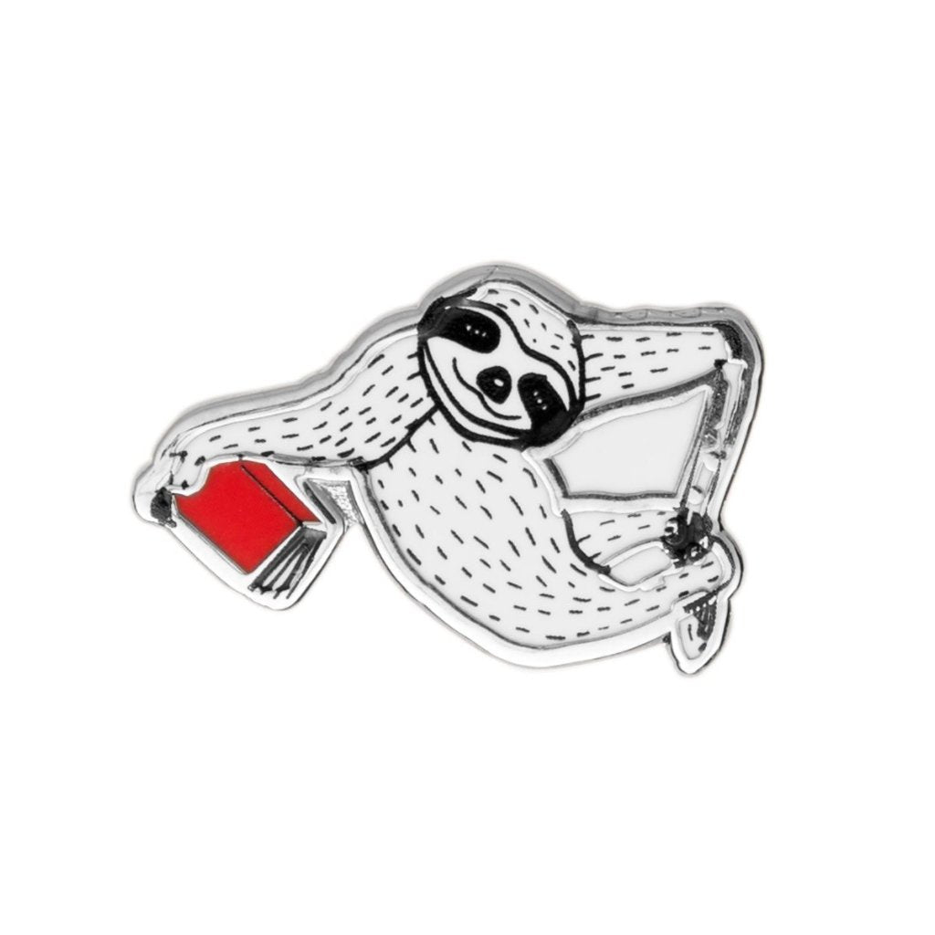 Sloth Book Pin - The New York Public Library Shop