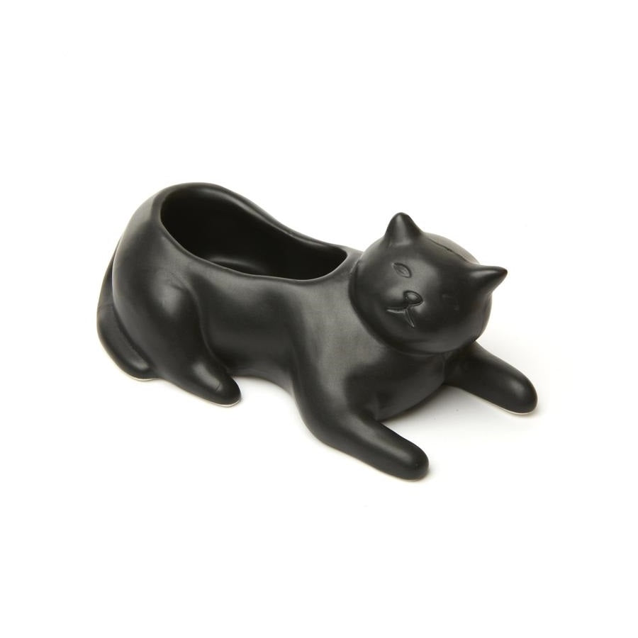 Cosmo The Black Cat Planter - The New York Public Library Shop
