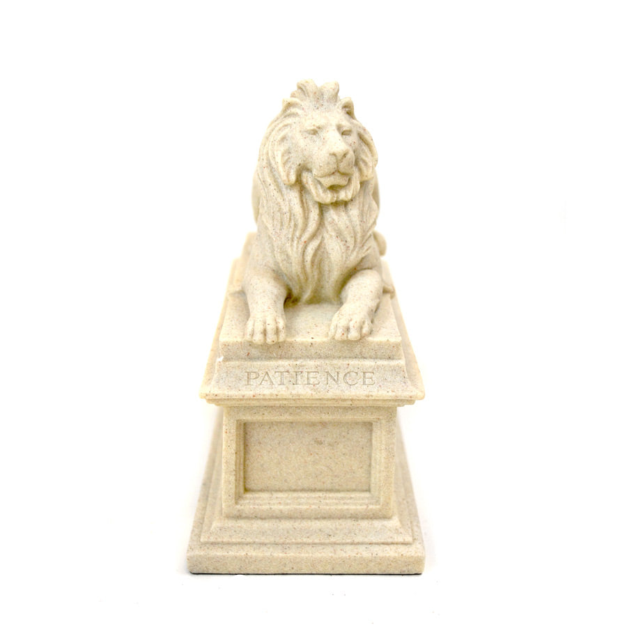 Library Lion Patience Sculpture - The New York Public Library Shop