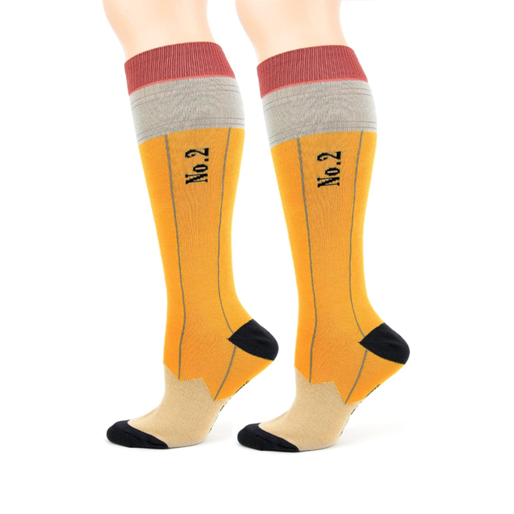 Pencil Knee High Socks