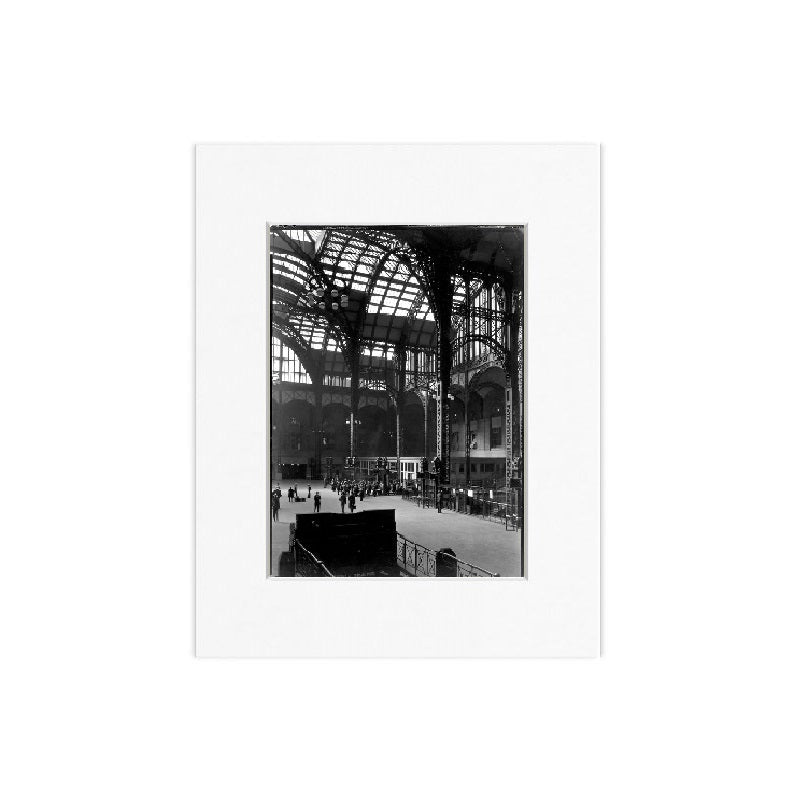 Penn Station Matted Print - The New York Public Library Shop