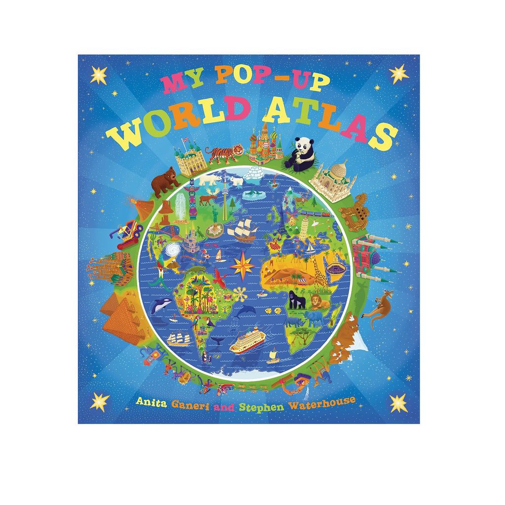 My Pop-Up World Atlas - The New York Public Library Shop