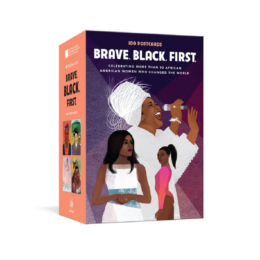 Brave. Black. First Postcard Set