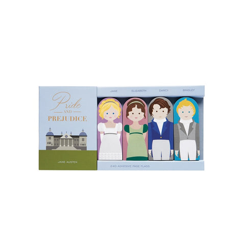 Pride and Prejudice Page Flags