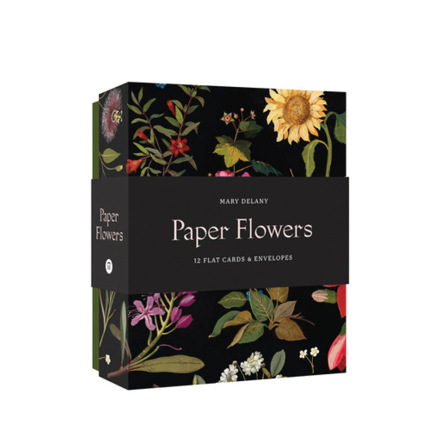 Paper Flowers Cards and Envelopes