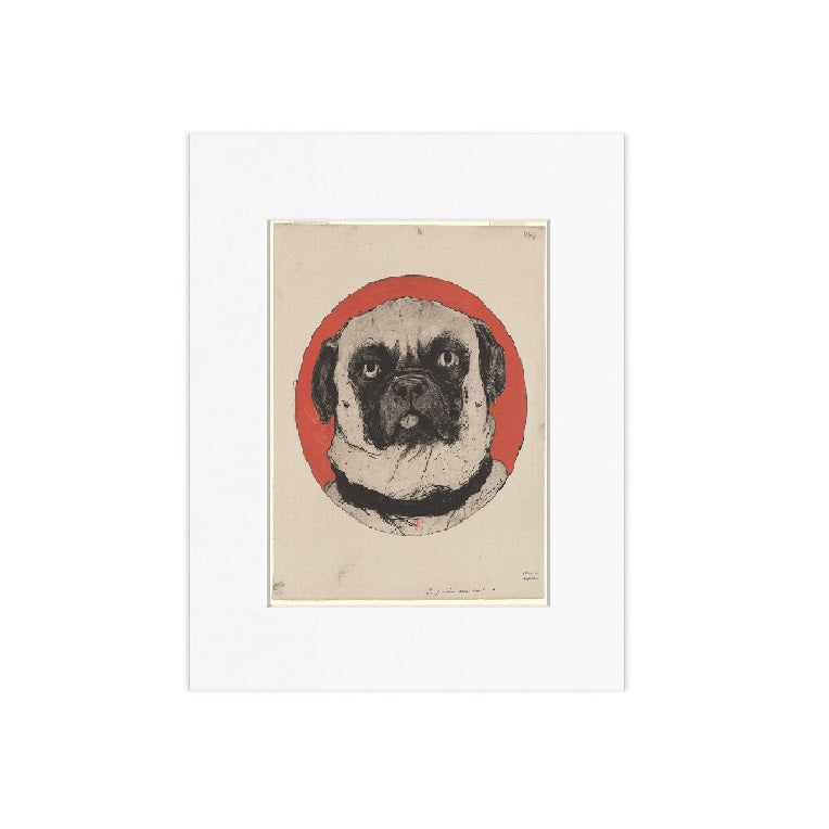 Azor Matted Print - The New York Public Library Shop