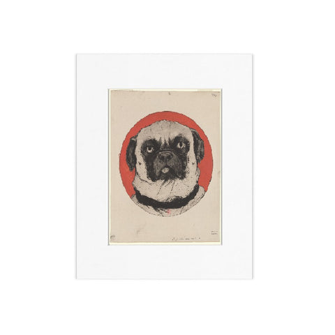 Azor Matted Print