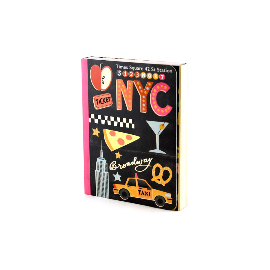 Sights of New York Pocket Notepad