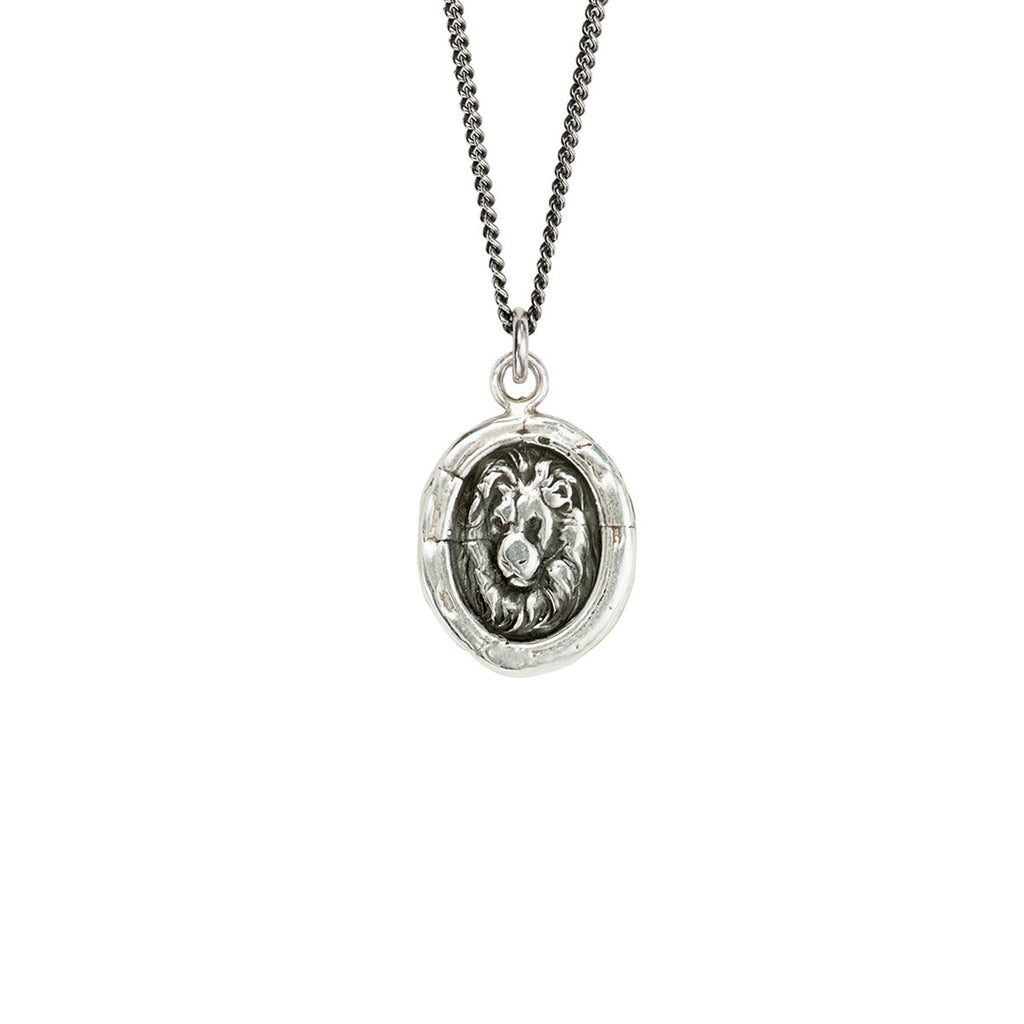 Lion Head Necklace - The New York Public Library Shop